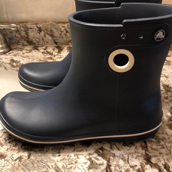da044892f5a3f CROCS Shoes - Women size 9 croc rain boots.